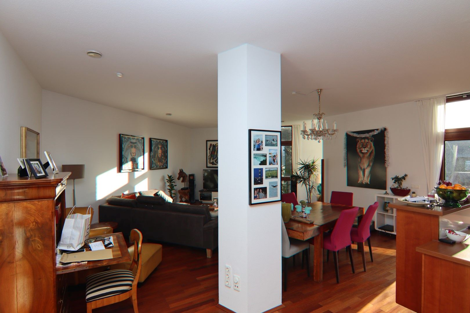 Immobilie Nr.0275 - 4-Raum-Deluxe-Wohnung mit Aufzug, Dachterrasse u. Garage - Bild 3.jpg