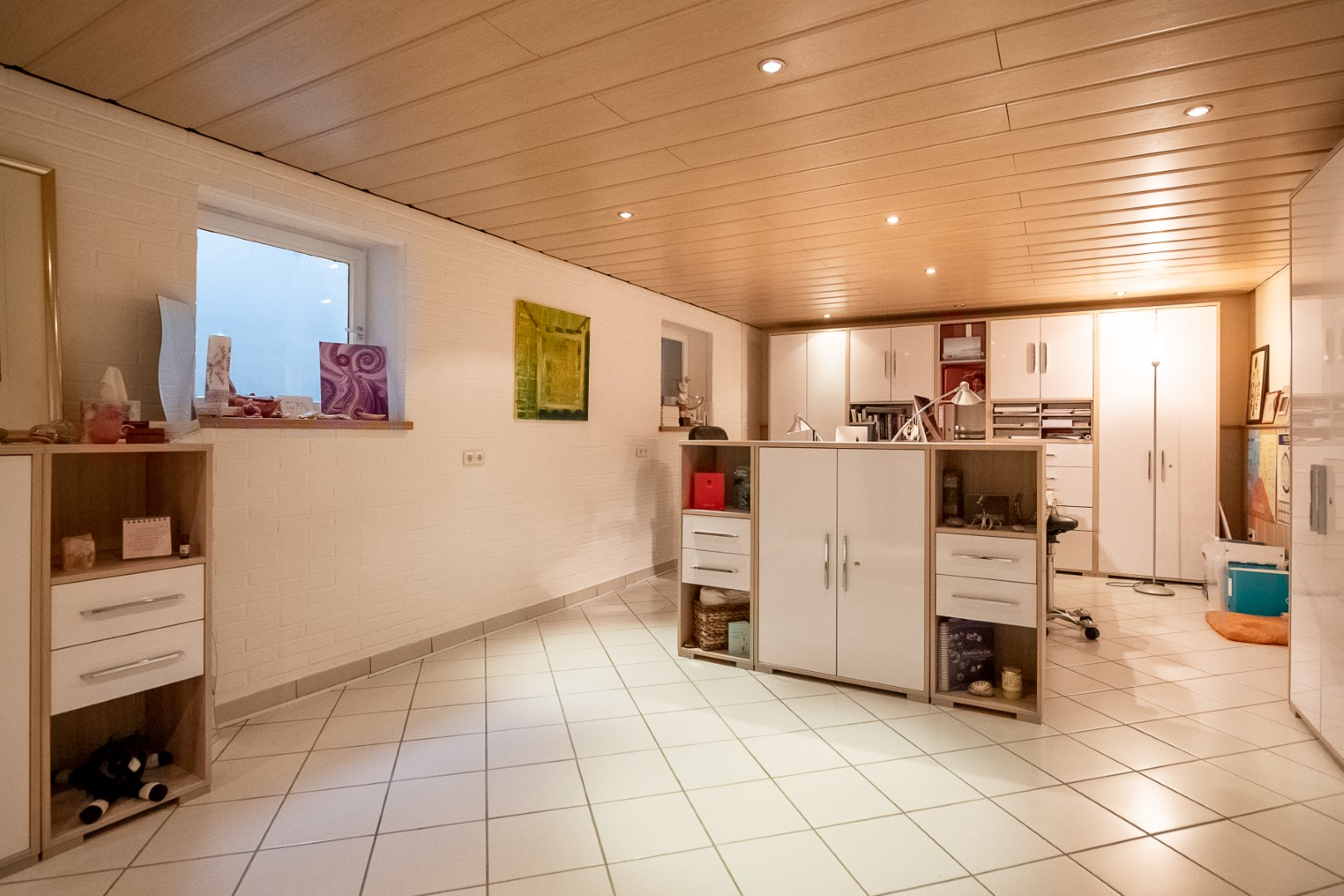 Immobilie Nr.0356 - DHH linksbündig mit Lang-Garage, Carport, Ausbaureserve.  - Bild 7.jpg